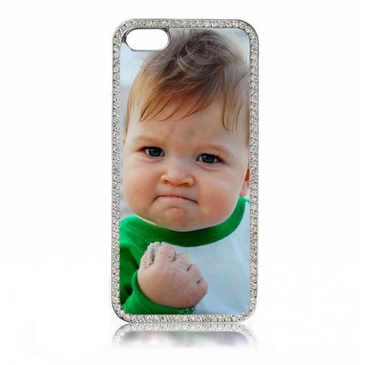 Iphone 4/4s SILVER DIAMONTE  case